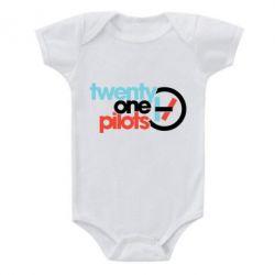 Дитячий бодік Twenty One Pilots Logo