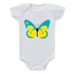 Детский бодик Український метелик - FatLine
