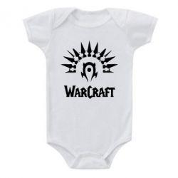 Детский бодик WarCraft Logo - FatLine