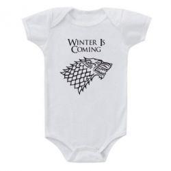 Детский бодик Winter is coming (Игра престолов) - FatLine