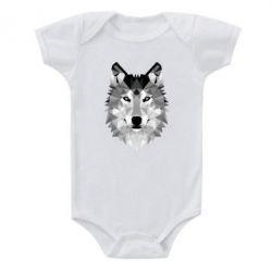 Детский бодик Wolf Art - FatLine