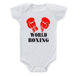 Детский бодик World Boxing - FatLine