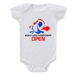 Детский бодик World Judo Championship Open