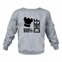 Детский реглан 100% Chef - FatLine