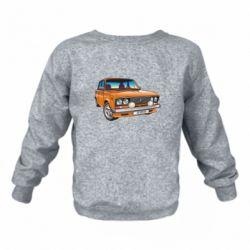 Детский реглан (свитшот) A car