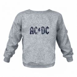 Детский реглан (свитшот) AC/DC Logo