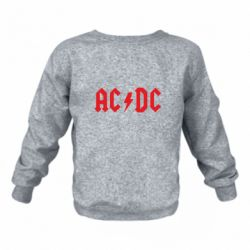 Детский реглан (свитшот) AC DC