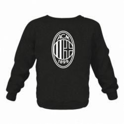 Дитячий реглан (світшот) AC Milan logo