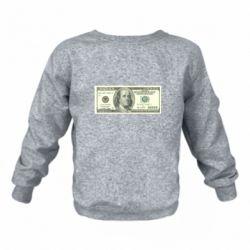Дитячий реглан (світшот) Американський Долар
