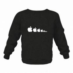 Дитячий реглан (світшот) Apple Еволюції