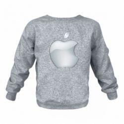 Дитячий реглан (світшот) Apple Silver