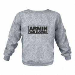 Детский реглан (свитшот) на флисе Armin