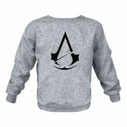 Дитячий реглан (світшот) Assassins Creed Logo