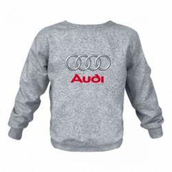 Дитячий реглан (світшот) Audi 3D Logo