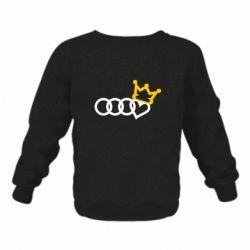 Дитячий реглан (світшот) Audi queen
