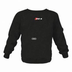 Детский реглан (свитшот) Audi RS4