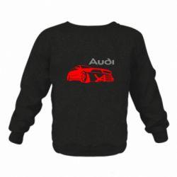 Дитячий реглан (світшот) Audi Turbo