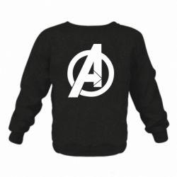 Дитячий реглан (світшот) Avengers logo