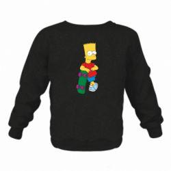 Детский реглан Bart Simpson - FatLine