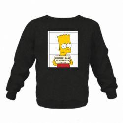 Детский реглан Барт в тюряге - FatLine