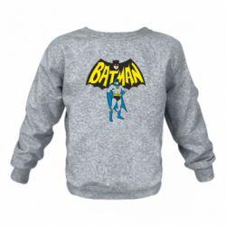 Детский реглан (свитшот) Batman Hero