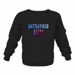 Дитячий реглан (світшот) Battlefield 5 bullets