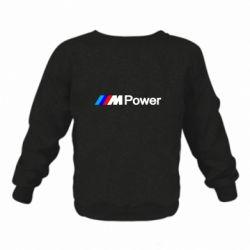 Детский реглан (свитшот) BMW M Power logo
