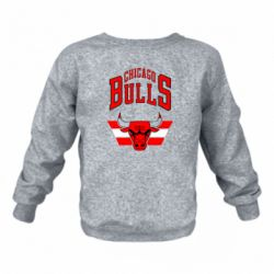 Дитячий реглан (світшот) Великий логотип Chicago Bulls
