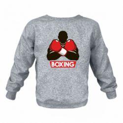 Детский реглан (свитшот) Box Fighter