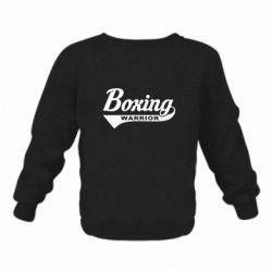 Дитячий реглан (світшот) Boxing Warrior