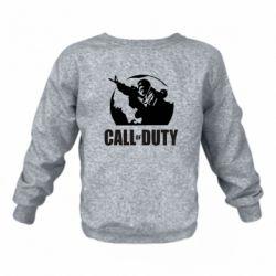 Детский реглан (свитшот) Call of Duty Logo