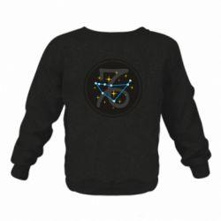Детский реглан (свитшот) Capricorn constellation