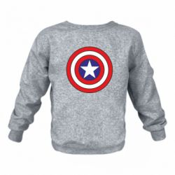 Детский реглан (свитшот) Captain America