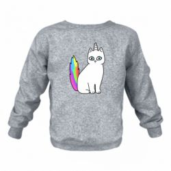 Детский реглан (свитшот) Cat Unicorn