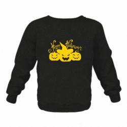 Детский реглан Cчастливого Хэллоуина - FatLine
