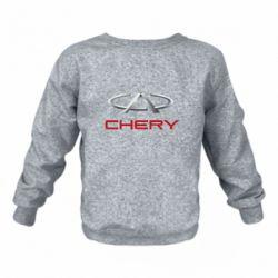 Детский реглан (свитшот) Chery Logo