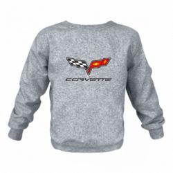Дитячий реглан (світшот) Chevrolet Corvette