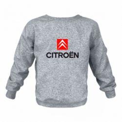 Детский реглан (свитшот) Citroën Small