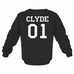 Детский реглан (свитшот) Clyde 01