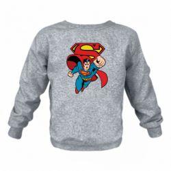 Дитячий реглан (світшот) Comics Superman
