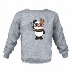 Дитячий реглан (світшот) Cool panda