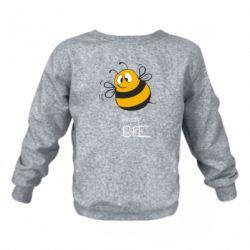 Дитячий реглан (світшот) Crazy Bee