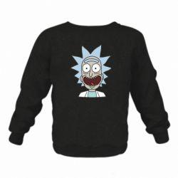 Детский реглан (свитшот) Crazy Rick