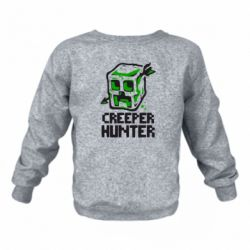 Детский реглан (свитшот) Creeper Hunter