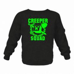 Дитячий реглан (світшот) Creeper Squad