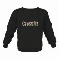 Детский реглан (свитшот) CrossFit камуфляж