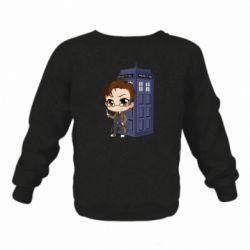 Дитячий реглан (світшот) Doctor who is 10 season2