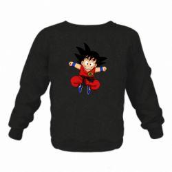 Дитячий реглан (світшот) Dragon ball Son Goku