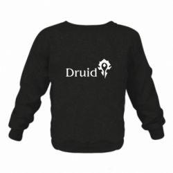 Детский реглан (свитшот) Druid Orc