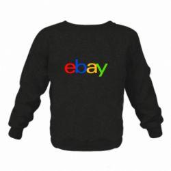 Дитячий реглан (світшот) Ebay